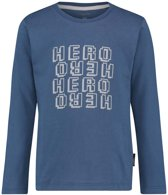 Noppies Jongens T-shirt Talbot - Indigo blue - Maat 122