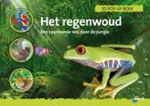 ANWB/  Het regenwoud 3D Pop Up boek