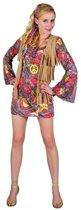 Dames verkleed jurkje hippie M