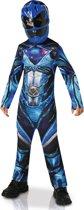 Power Ranger Blauw Pakje Jongens - Maat L 128