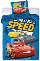 Cars 3 Speed BABY dekbedovertrekje 100 x 135 cm