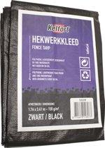 Kelfort Hekwerkkleed zwart 1.76x3.41m 150gr/m