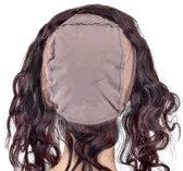 Shri 100% Indian Human Hair 360⁰ met cap Frontal Body Wave, 14 Inch, 130% Density