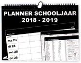 Familieplanner Basic schooljaar 2018-2019 - Omslag