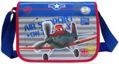 Disney PLANES Dusty Air Support Omhang Schoudertas met flap School Tas A4 COOL