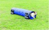 Trixie dog activity agility tunnel blauw 40 cmx2 mtr