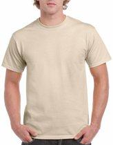 Zandkleur katoenen shirt voor volwassenen L (40/52)