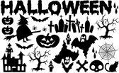 Halloween Raamsticker Herbruikbaar