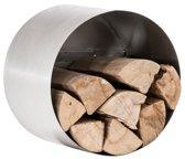 Clp Yuki Brandhoutstandaard - Roestvrij staal M