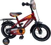 Yipeeh Extreme - Kinderfiets - 12 Inch - Jongens - Rood