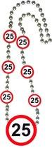 Ketting 25 Jaar Verkeersbord