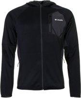 Columbia Triple Canyon Hooded Fleece Vest - Heren - Black