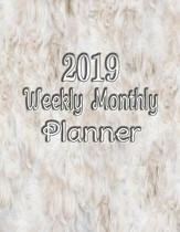 Academic Planner 2019 Weekly and Monthly Calendar