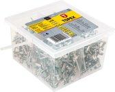 TOPEX popnagels 4,0x10mm 500 stuks verpakking