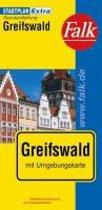 Falk Stadtplan Extra Standardfaltung Greifswald 1 : 15 000