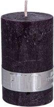 Kaars vintage purple 8x5cm