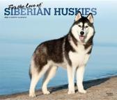 Siberian Huskies, for the Love of 2020 Deluxe Foil
