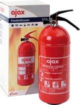 Ajax Brandblusser - Poeder - Inclusief Wandhouder - 2 Kg