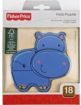 Pz. Fisher Price Holz Nilpferd 4T.