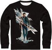 Quantum Break - Box Art Men's Sweater - XL