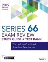 Wiley Series 66 Securities Licensing Exam Review 2019 + Test Bank