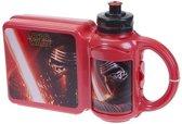 Disney Lunchset Star Wars Broodtrommel En Beker Rood 2-delig