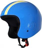 Eassun Ski Helm Apache Racing 50-56 (S) Blauw/Geel Reg