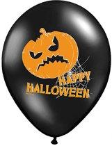 Halloween Ballonnen Pompoen 30cm 6 stuks