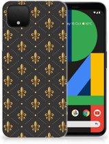 Google Pixel 4 XL TPU bumper Franse Lelie