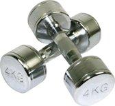 Marcy Chrome Dumbbells - 2 x 4 kg - Paar