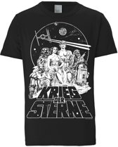 Logoshirt T-Shirt Star Wars - Emblem