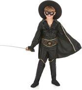 Zwarte musketier kostuum voor jongens - Verkleedkleding