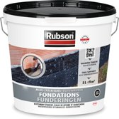 Rubson Fundering Coating Huis en Tuin - 5 Liter - Zwart