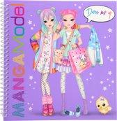 Afbeelding van TOPModel MANGAModel dress me up stickerboek speelgoed