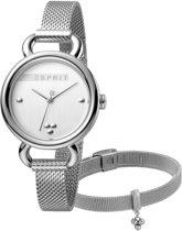 Esprit ES1L023M0035 Play Horloge - Staal - Zilverkleurig - Ø 32 mm