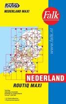 Routiq patent wegenkaarten - Routiq Nederland Maxi Tab Map