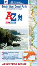 SW Coast Path South Cornwall Adventure Atlas