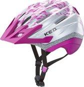 KED 360˚ reflecterende fietshelm: Dera K-Star M Violet, Maat: 52-58 cm