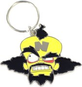 Crash Bandicoot - Dr Neo Cortex Metal Keychain