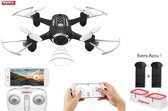 Syma X22W live HD Camera fpv mini drone - quadcopter |app control functie + Extra Accu pack