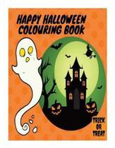 Happy Halloween Colouring Book