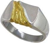 Rivier van goud, Zilveren Zegelring 20mm
