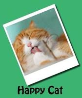 Happy Cat (Journal / Notebook)