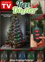 bekend van de TV Tree Dazzler - Kerstverlichting 64 LED met 16 kleuren en motieven