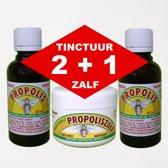 Dr.Dudek PROPOLIS TINCTUUR PAKKET (2+1 PROPOLISZALF GRATIS)