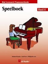 Speelboek De Hal Leonard Piano Methode 5