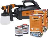 Foliatec Spray System - wit mat - Spuitpistool - Kompressor - 12m slang - 2x5liter + 500ml verdunner