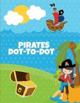 Pirates Dot-To-Dot: Puzzles Book for Children Ages 6-8 and 8-12, Fun Learning Connect the Dots for Kids, Birthday Gift, Christmas Gift Ide