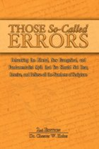 Those So-Called Errors