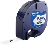 Dymo labeltape - 91201 Letratag - Wit